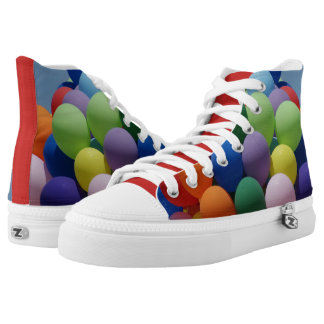Balloons For Him and Balloons For Her High-Top Sneakers