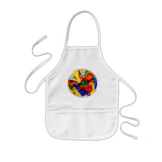 """""""Balloons Galore!"""" collection kids apron"""