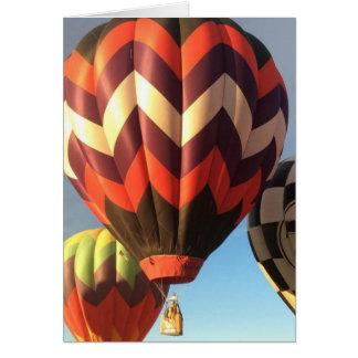 Balloons Greeting Caard Card