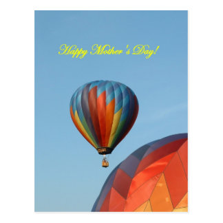 Balloons, Happy Mother's Day! Postcard