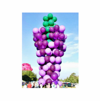 Balloons Hot Air Cluster Photo Sculptures