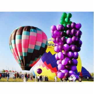 Balloons Hot Air Clusters Photo Cutout