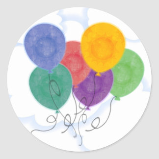 Balloons in the Sky Sticker
