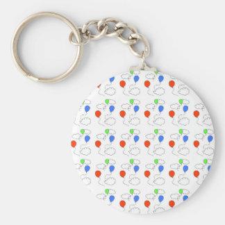 balloons keychain
