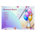 Balloons Large Business Cards (Pack Of 100)