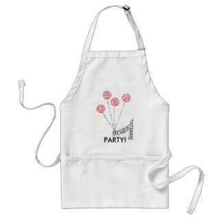 BALLOONS - MADE OF LITTLE FACES ADULT APRON