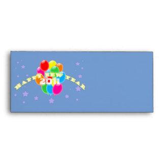 Balloons New Year Envelope