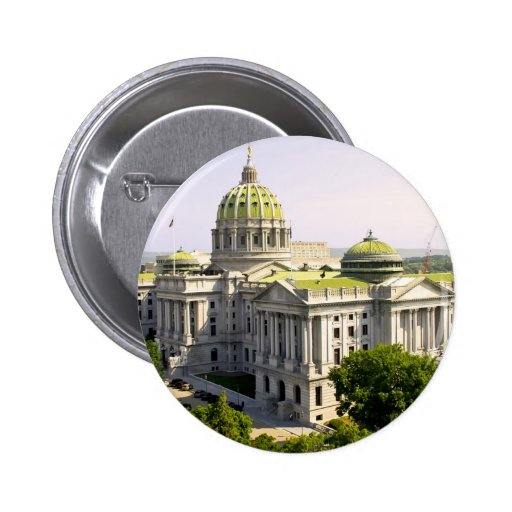 Balloons over Harrisburg PA 2 Inch Round Button