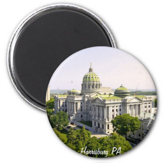 Balloons over Harrisburg PA Magnet