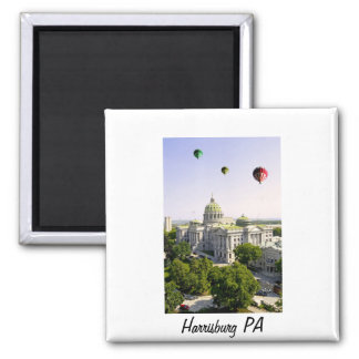 Balloons over Harrisburg PA Magnet