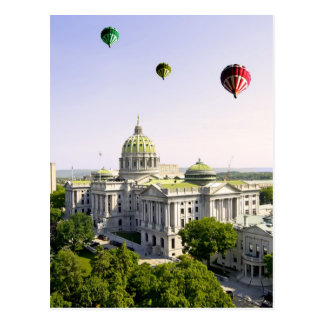 Balloons over Harrisburg PA Post Cards