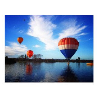 Balloons over Henley Lake Postcard