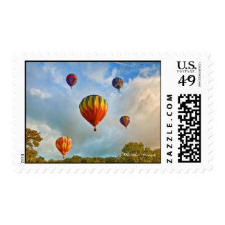 Balloons over Plainville CT Stamps