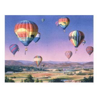 Balloons over San Dieguito Postcard