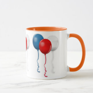 Balloons Party Shower Personalize Thanks Destiny Mug