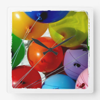balloons photograph wall clocks