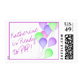 Balloons Ready to Pop Stamps