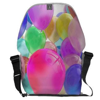 Balloons Rickshaw Messenger Bag