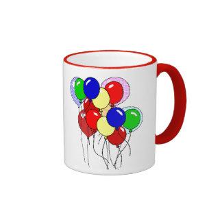 Balloons Ringer Mug