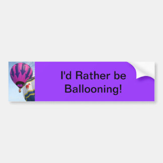 Balloons!  Rooster and Arrows Bumper Sticker