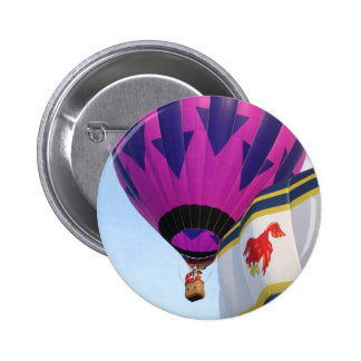 Balloons Rooster and Arrows Pin