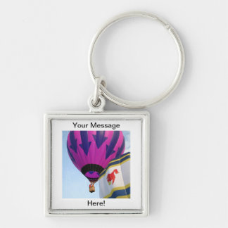 Balloons!  Rooster and Arrows Keychain