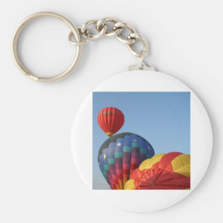 Balloons!  Saturn and Stars Basic Round Button Keychain