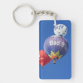balloons Single-Sided rectangular acrylic keychain