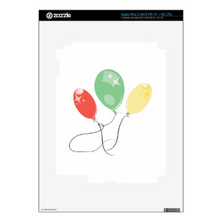 Balloons Skins For iPad 3