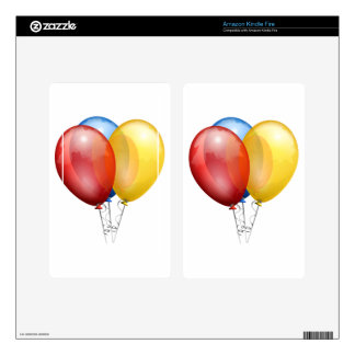 BALLOONS SKINS FOR KINDLE FIRE