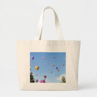 Balloons Sky Balloon Feastival Jumbo Tote Bag