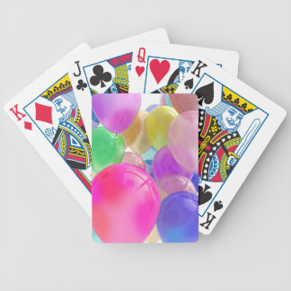 Balloons Standard Bicycle Playing Cards