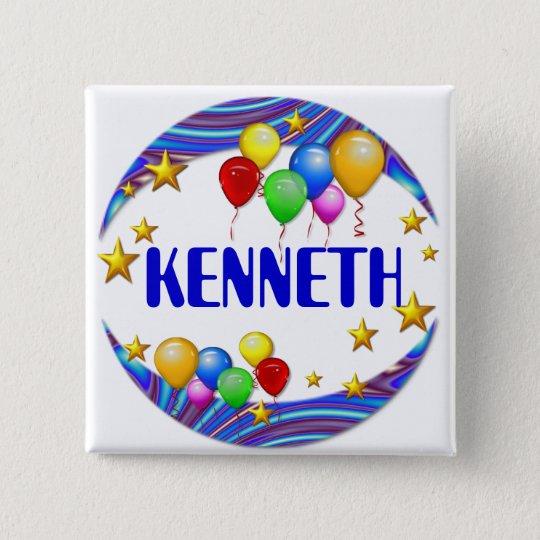 Balloons & Stars  ~  Name Button