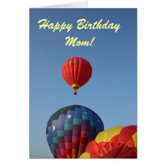 Balloons, Sun, Moon, and Stars! Card
