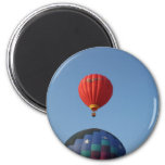 Balloons, Sun, Moon, and Stars! 2 Inch Round Magnet
