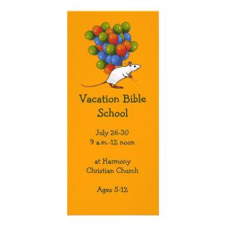 BALLOONS: VACATION BIBLE SCHOOL INVITATION CARDS