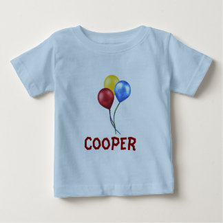 Balloons with name baby T-Shirt