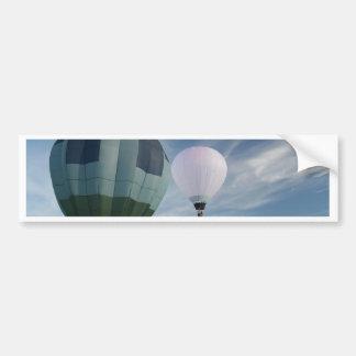 Balloons XLTA  Blue and White! Bumper Sticker