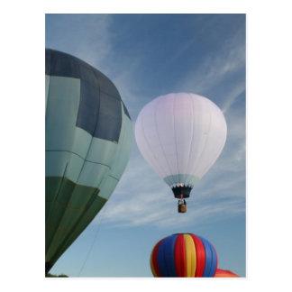 Balloons XLTA  Blue and White! Postcard