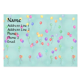 Ballooons2.png Large Business Cards (Pack Of 100)