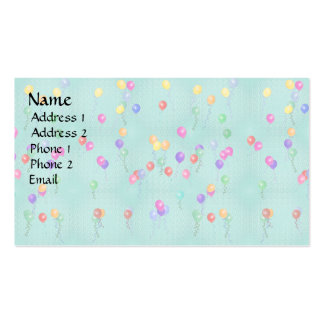 Ballooons2.png Double-Sided Standard Business Cards (Pack Of 100)