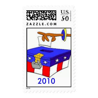 ballot-box-2, 2010 postage