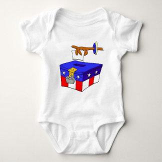 ballot-box-2 baby bodysuit
