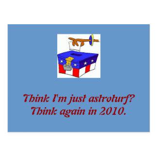 ballot-box-2, Think I'm just astroturf? Think a... Postcard