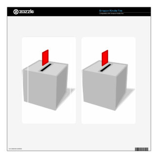 Ballot Box Kindle Fire Skins