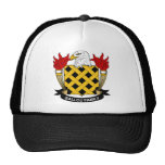 Ballou Family Crest Hats