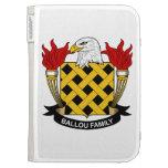 Ballou Family Crest Kindle Keyboard Case