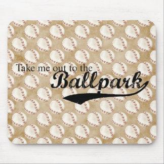 Ballpark Mouse Pads