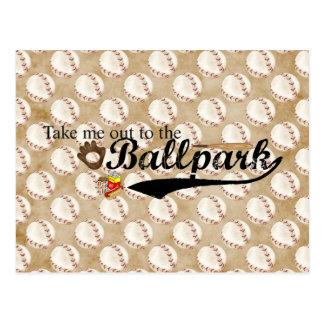 Ballpark Postcard