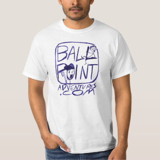 BALLPOINT ADVENTURES logo T T Shirt